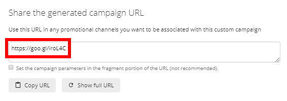 Campaign URL Builder3